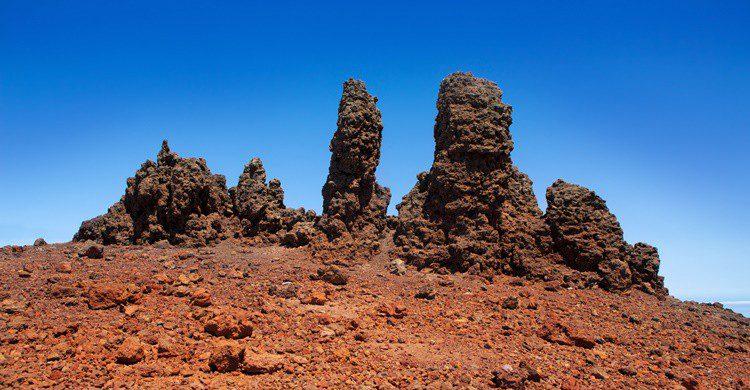 Paisaje volcánico en La Palma. LUNAMARINA (iStock)