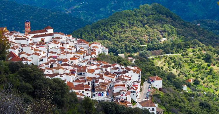 Vistas de Algatocín, Málaga