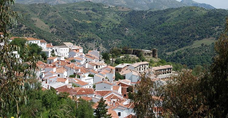 Vistas de Benadalid, Málaga