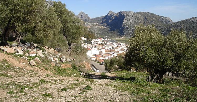 Vistas de Benaoján, Málaga
