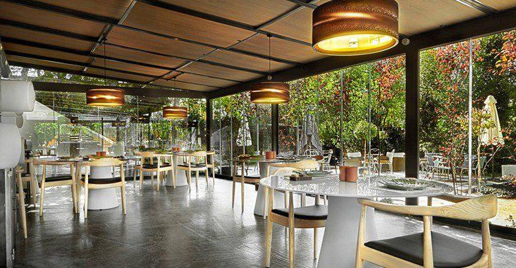 Vista del restaurante (El Invernadero, Facebook)