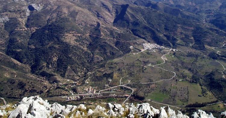 Vistas de Jimera de Líbar, Málaga