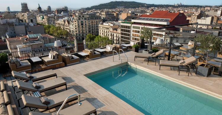 Desde las alturas (Majestic Hotel & Spa Barcelona, Facebook)