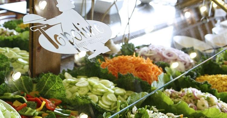 Buffet de ensaladas (Web de Topolino)