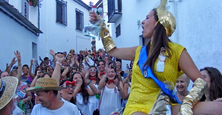 fiestas de pueblos de Granada