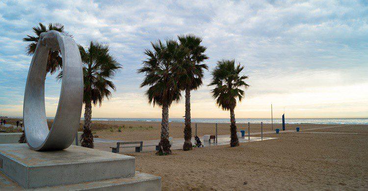 Playa de Castelldefels. Almusaiti (Flickr)