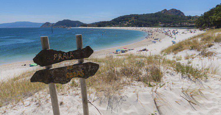 Playa de Rodas en las Islas Cíes. Josfor (iStock)
