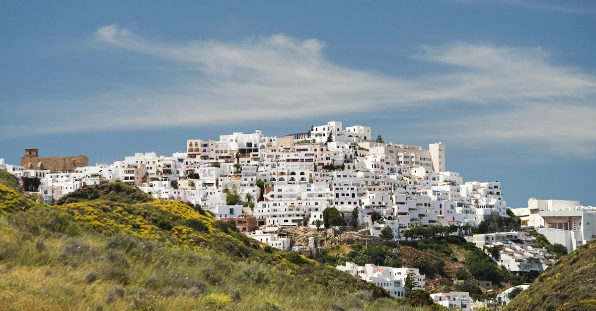 Vistas de Mojácar, Almería
