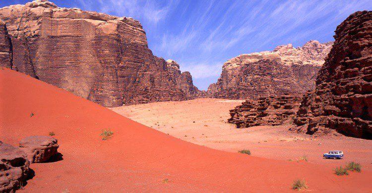 Desierto de Wadi Rum, en Jordania. Vanbeets (iStock)