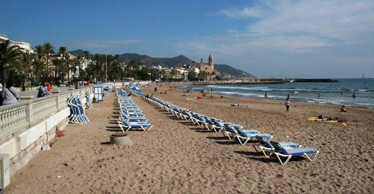 Playa de Sitges. xgilest (Flickr)