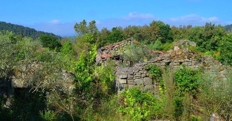 pueblos abandonados de Galicia