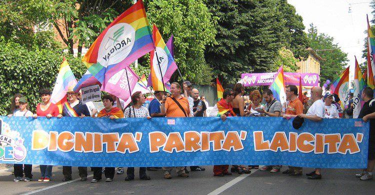 Manifestación en defensa del matrimonio gay en Italia (Fuente: Marco Mazzel / Flickr)