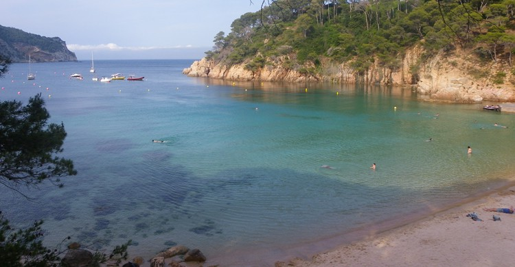 playas costa brava