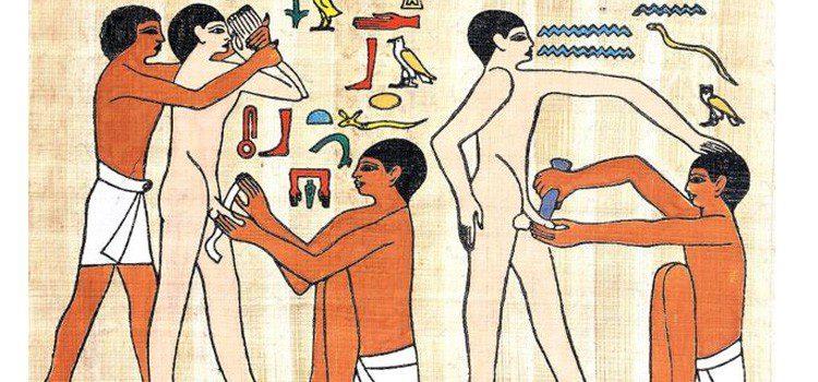Egipto y las pirámides en verano