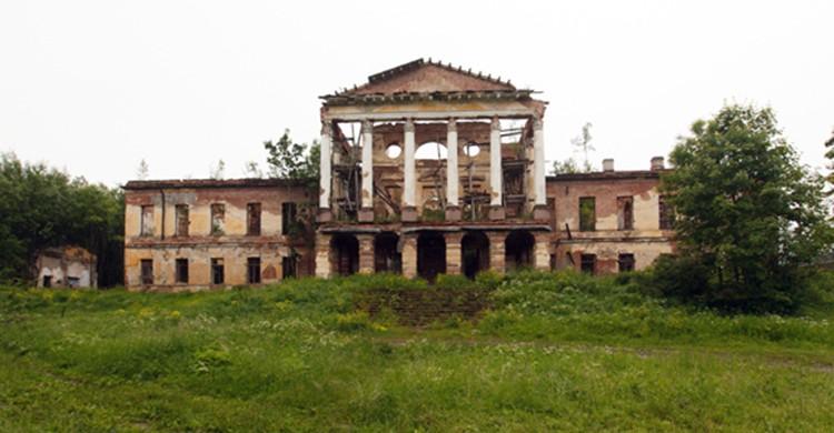 Facha del Palacio Ropsha, Rusia