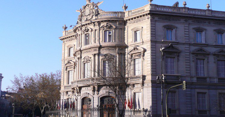 Exteriores de la Casa de América en Madrid (Fuente: Alquiler Coches / Flickr)