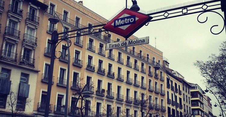 La estación de Tirso de Molina en Madrid (Fuente: Rodrigo Paredes / Flickr)