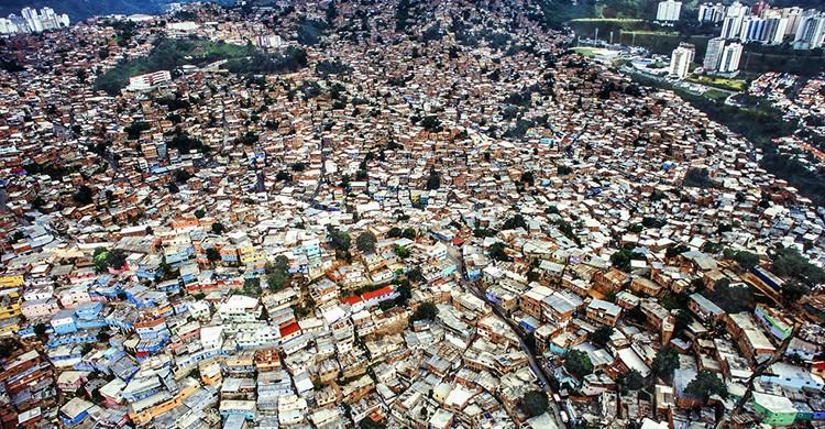 El barrio de Petare, en Caracas