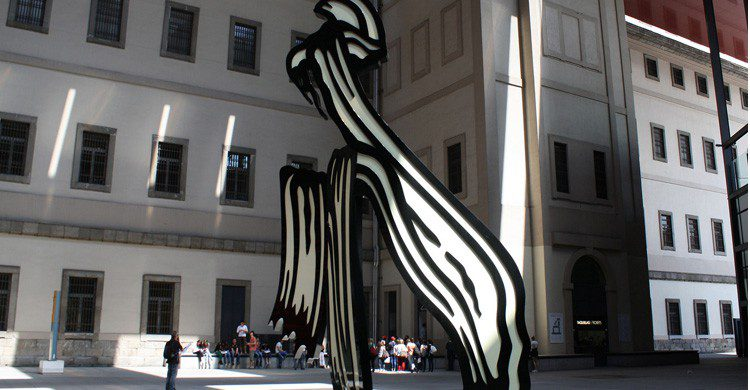Exteriores del Museo Reina Sofía en Madrid (Fuente: Nieves Sebastián / Flickr)