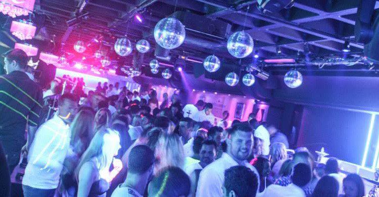 La exclusiva discoteca Tibu en Puerto Banús, Málaga (Fuente: Facebook Tibu)