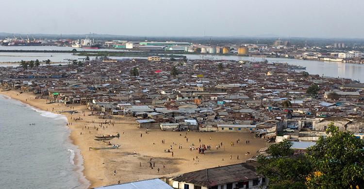 Vistas de West Point, Monrovia , Liberia