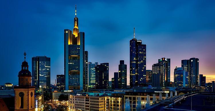 Vistas de Frankfurt, Alemania