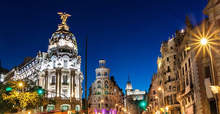 Fachada del Banco de España, Madrid