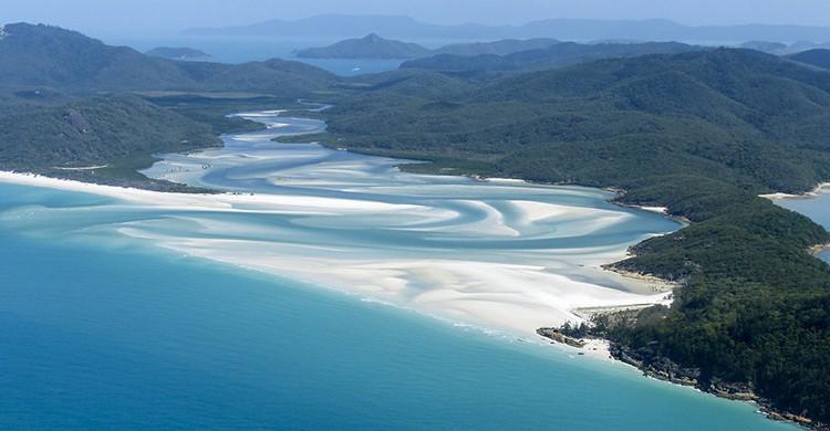 Vistas de la Gran Barrera de Coral Australia