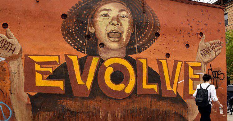 Grafiti en Bushwick (Lost Albatross, Foter)