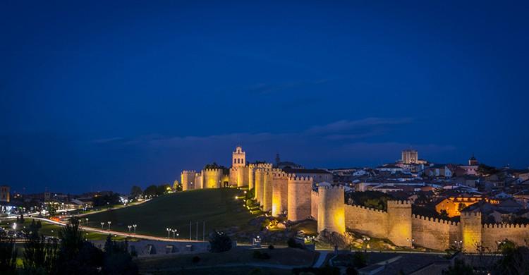 Vistas de la Muralla de Ávila