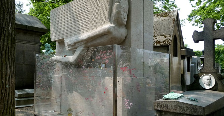 tumbas de famosos