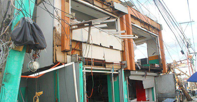 Destrozos en Manila