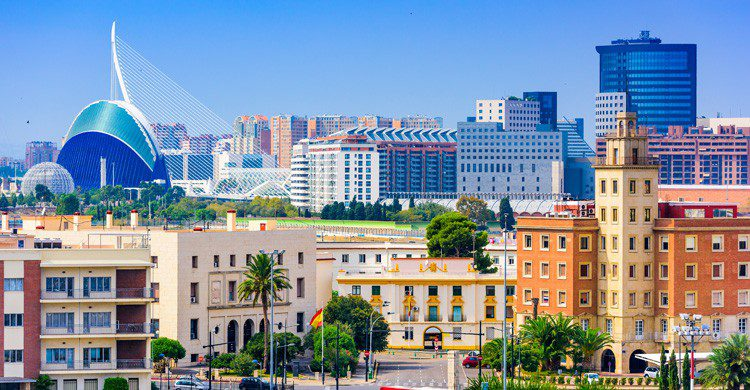 ciudad Valencia (Istock)