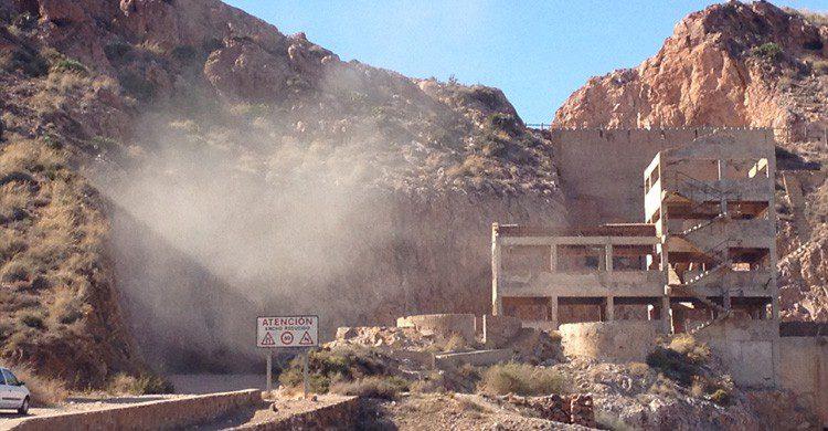 Vistas minas en Almeria y cabo de gata