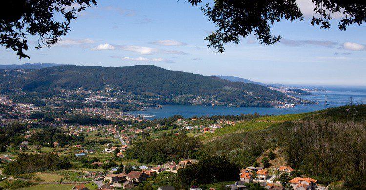 panorámica ciudad de Vigo