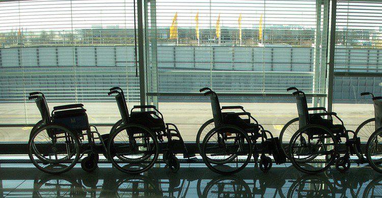Pide ayuda en el aeropuerto hasta que estés sentado en el avión (Fuente: Daniel Lobo / Flickr)