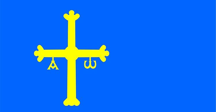 La bandera de Asturias