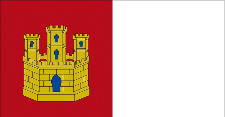 La bandera de Castilla-La Mancha