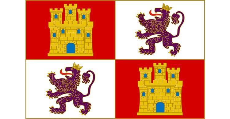 La bandera de Castilla y León