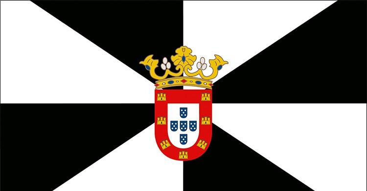 La bandera de Ceuta