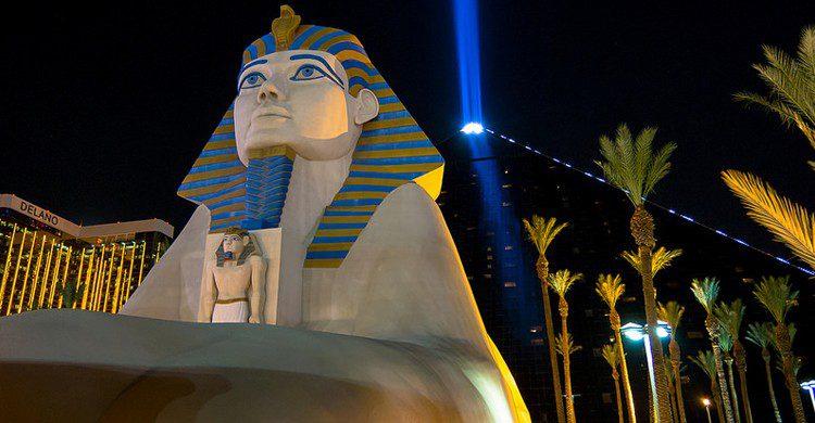Esfinge del Luxor Hotel (nan palmero, Foter)