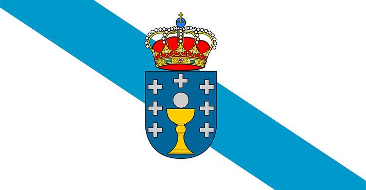 La bandera de Galicia