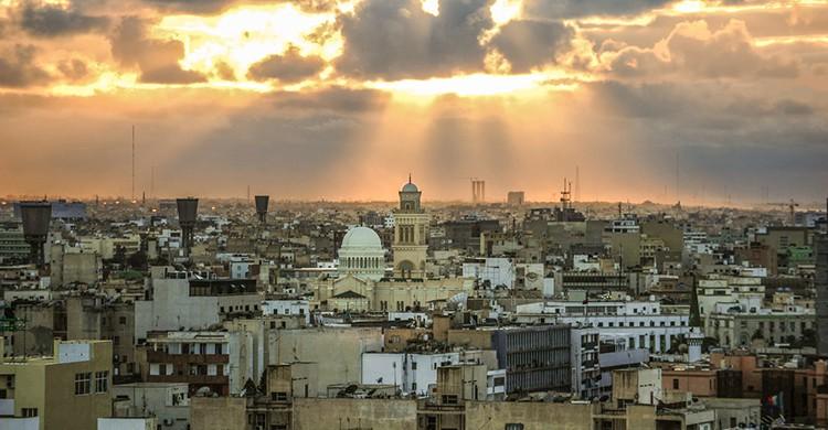 Vistas de Trípoli, Libia