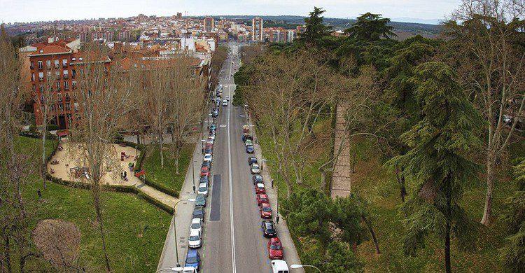 atardecer Madrid Viaducto Segovia