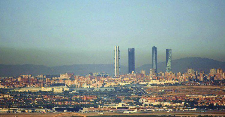 atardecer Madrid Alcala de Henares