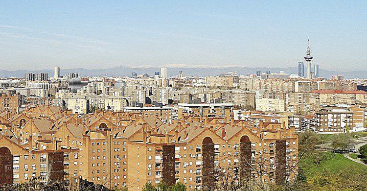 atardecer Madrid vallecas
