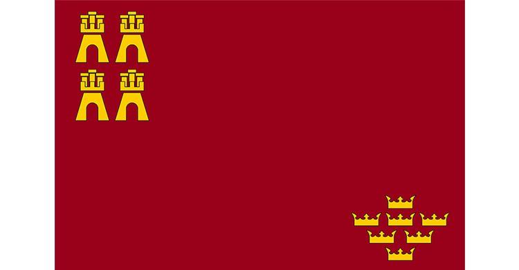 La bandera de Murcia