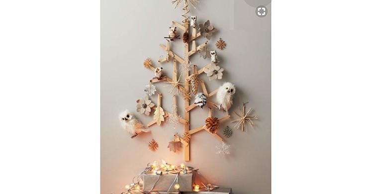 Árbol navideño estilizado