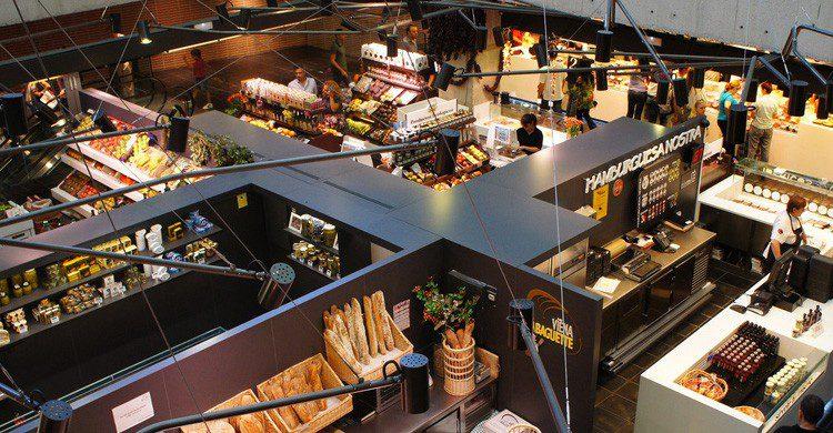 Mercado de San Antón en Madrid (Fuente: Rosa G / Flickr)