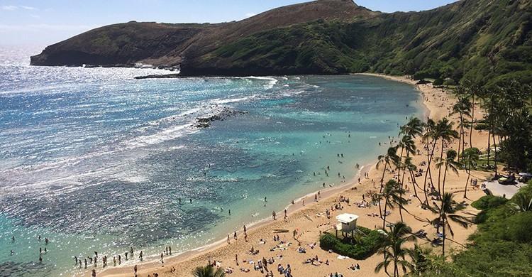 Playa en Hawai